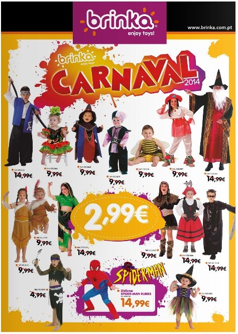 Novo folheto | BRINKA | Carnaval