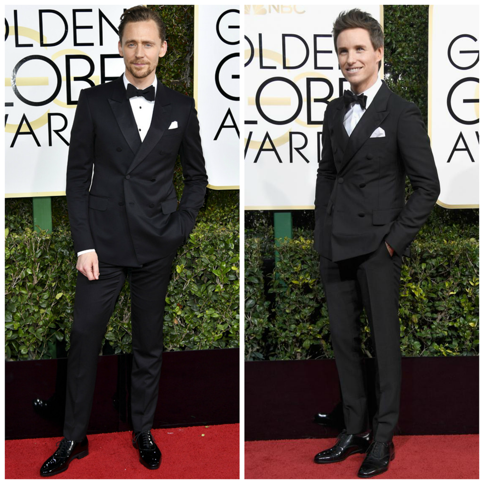 eddie redmayne tom hiddleston golden globes 2017.p