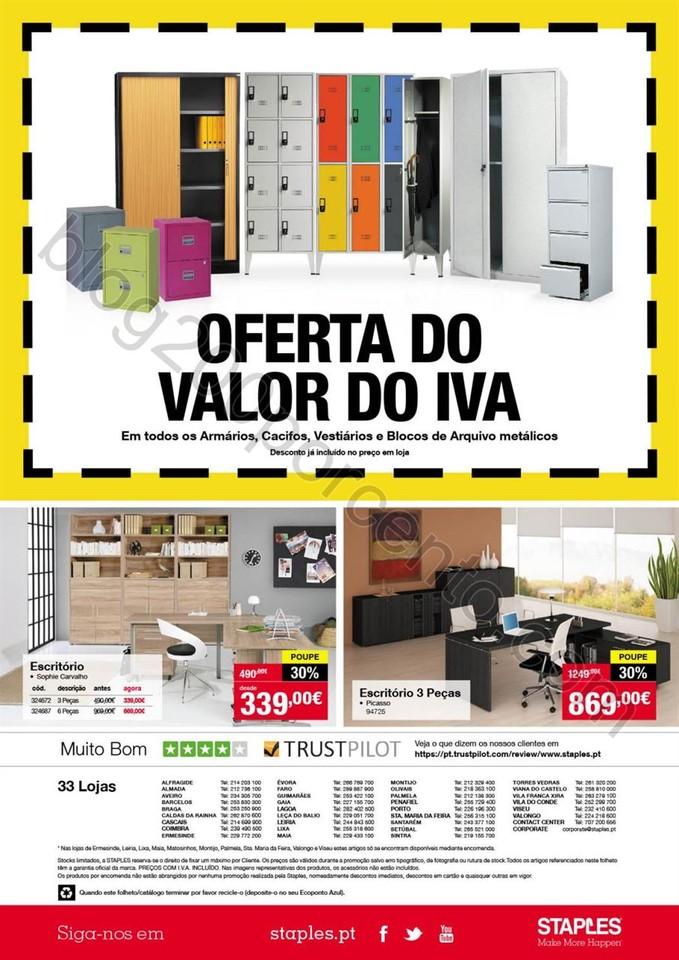 Antevisão Folheto STAPLES Grandes Descontos de 20
