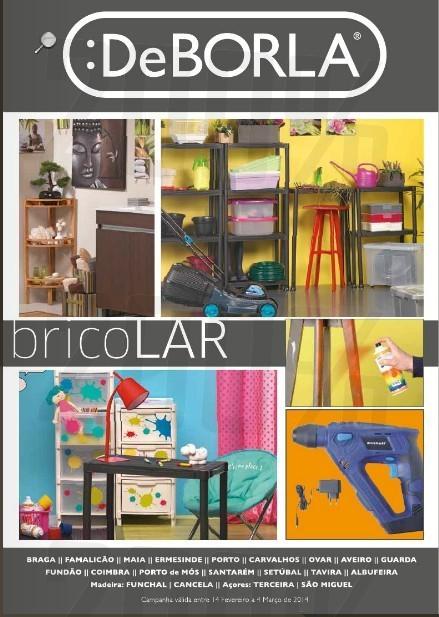 Antevisão Folhetos | DEBORLA | Bricolar e Carnaval de 14 fevereiro a 4 março