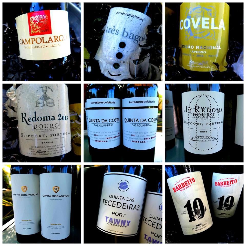 Os vinhos do almoço