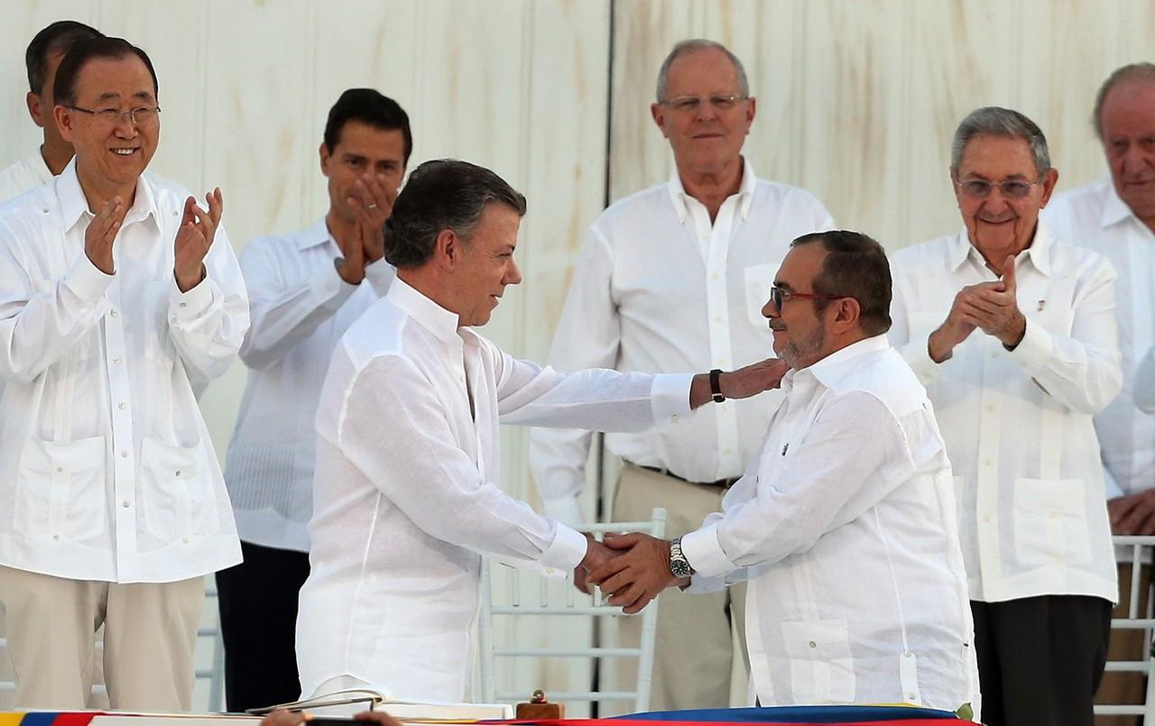 Juan Manuel Santos-Rodrigo Londoño