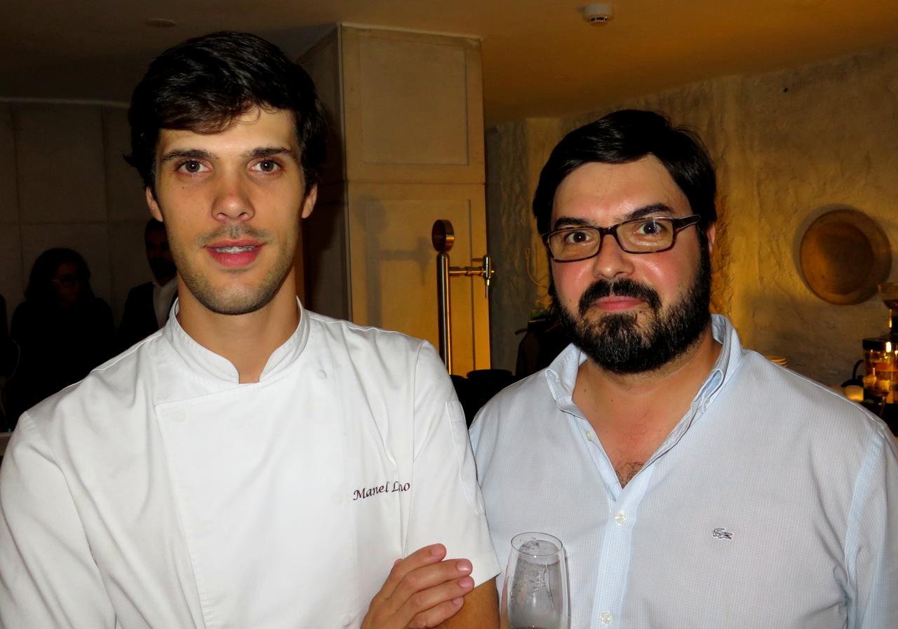 Manuel Lino e Luís Gradíssimo