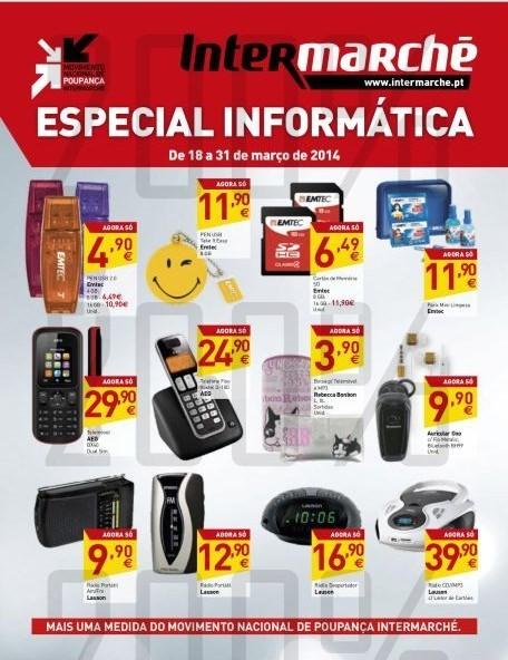 Novo folheto | INTERMARCHÉ | Especial Informática, até 31 março
