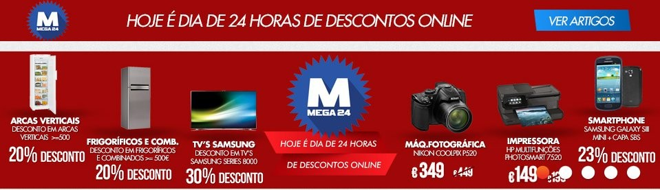 Mega24 | WORTEN | hoje dia 4 fevereiro