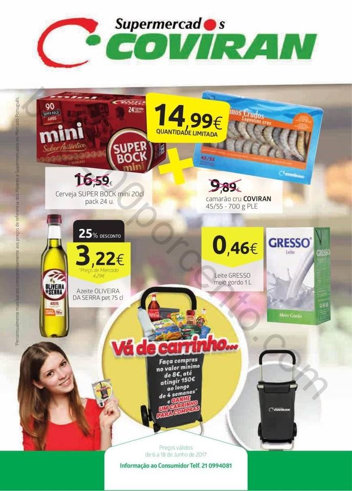 Antevisão Folheto COVIRAN Promoções de 6 a 18 j
