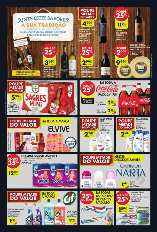 Antevisão Folheto Promoções Pingo Doce Fim Semana 22a26 mar