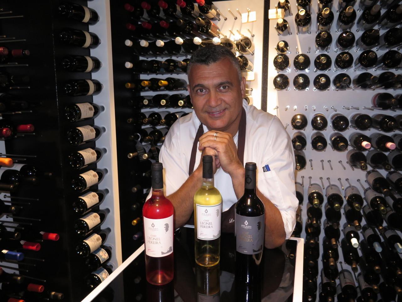 Leonel Pereira e os seus 3 vinhos