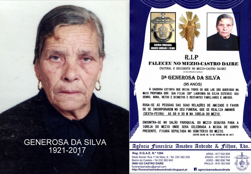 RIP-FOTO DE GENEROSA DA SILVA-95 ANOS (MEZIO).jpg
