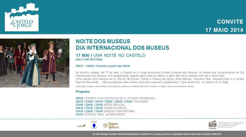 Noite dos museus no Castelo de São Jorge