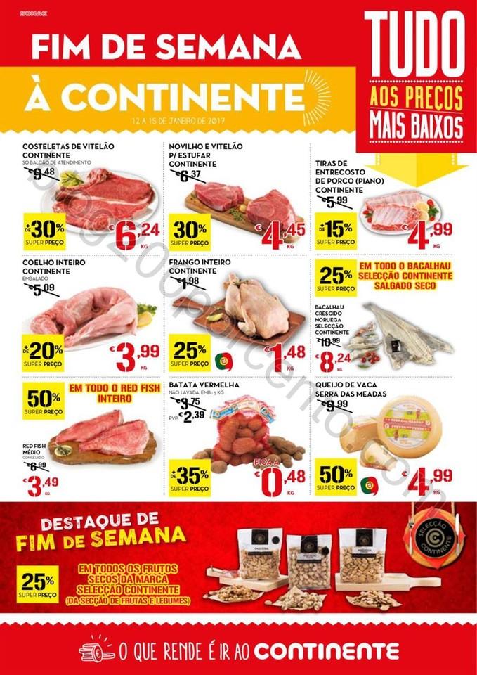 Antevisão Folheto CONTINENTE Fim de semana - 12 a