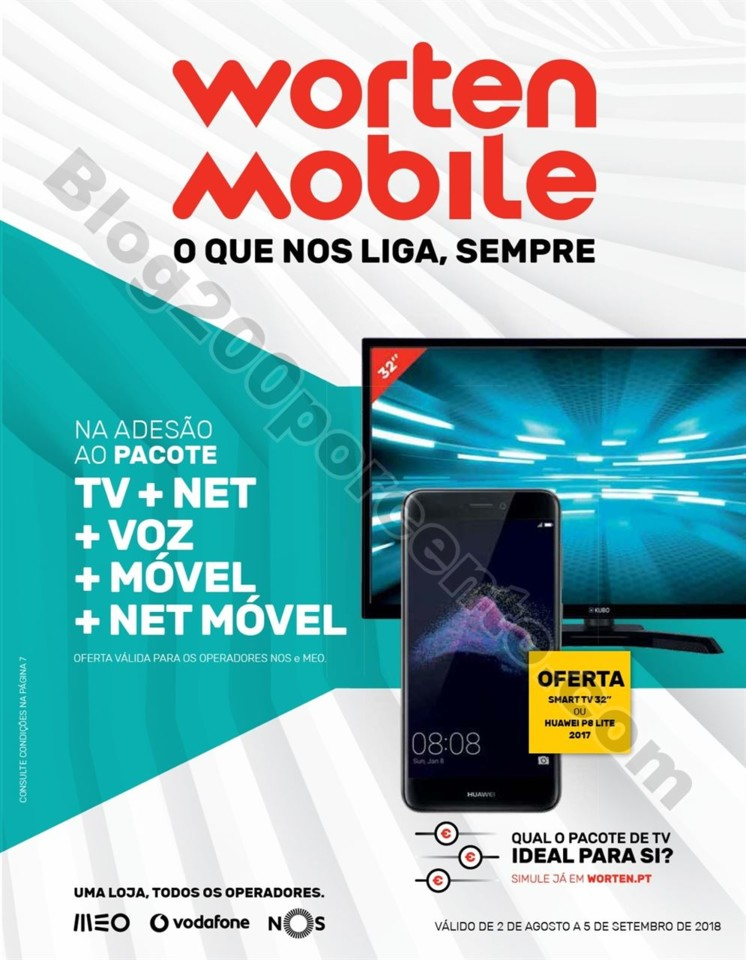 Antevisão Folheto WORTEN Mobile Promoções de 2