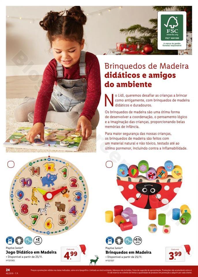 Folheto LIDL Presentes de Natal 11  novembro p24.j