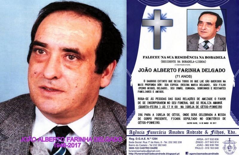 Z-FOTO-RIP DE JOÃO ALBERTO FARINHA DELGADO-71 ANO