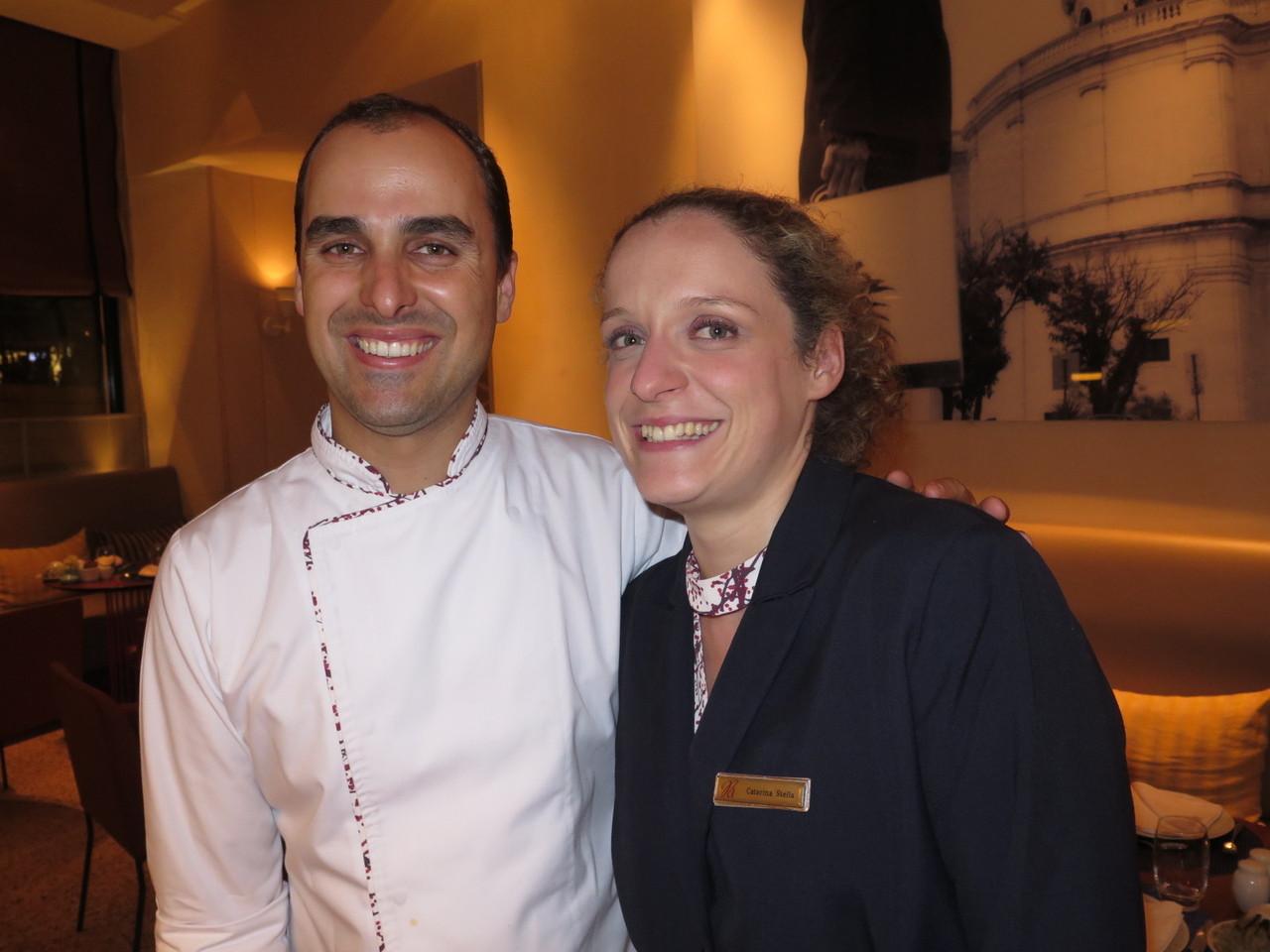 Bruno Rocha e Catarina Stella