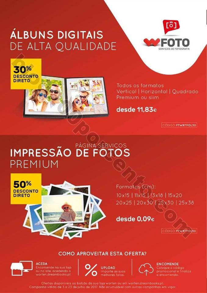 Antevisão Folheto Extra WORTEN Fotografia promoç