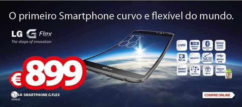 Promoção | RÁDIO POPULAR | Smartphone LG G Flex