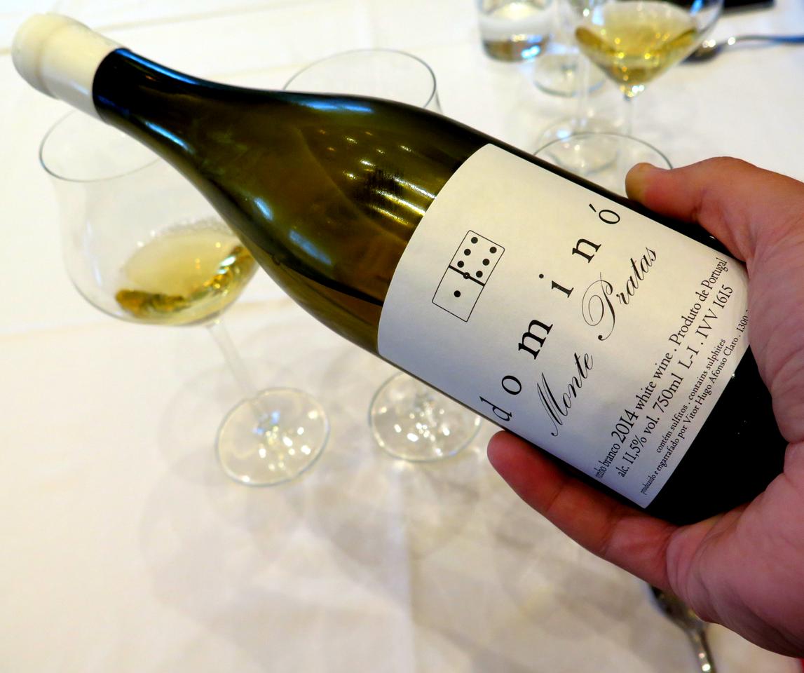 Dominó, o vinho produzido pelo Chef Vítor Claro