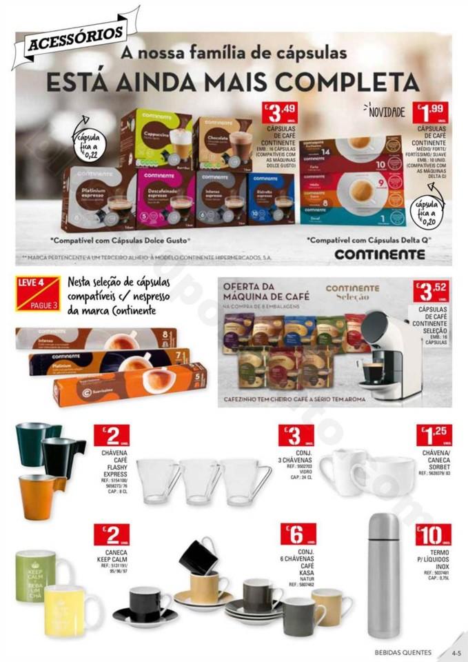 Antevisão Folheto CONTINENTE Bebidas Quentes prom