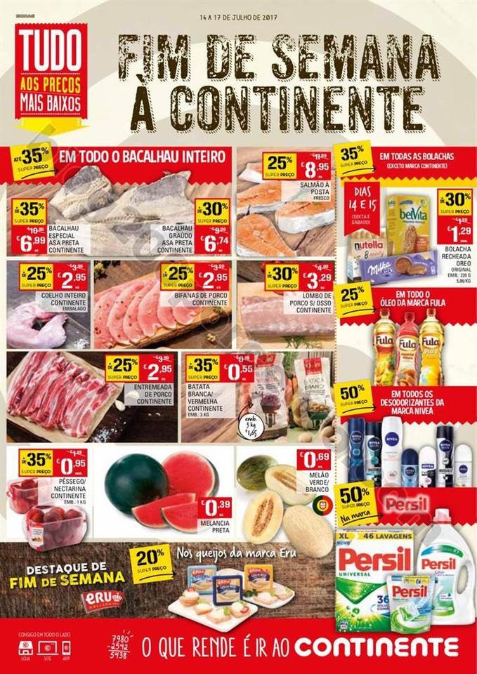ANtevisão Folheto CONTINENTE Fim de semana de 14