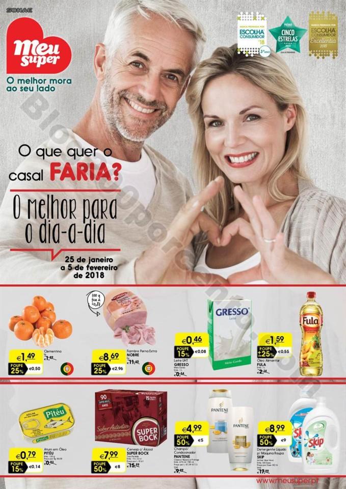 Antevisão Folheto MEU SUPER Promoções 25 janeir