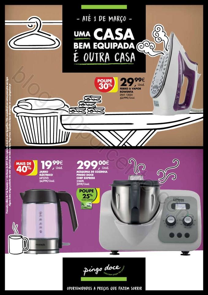 Novo Folheto PINGO DOCE Casa - Bazar promoções a
