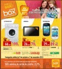 Folheto Box Tecno Pequenos Preços Online, de 9 Outubro a 7 Novembro