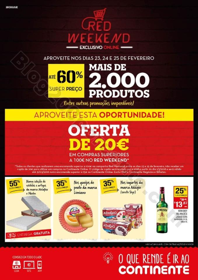 Antevisão Folheto CONTINENTE Red Weekend p1.jpg