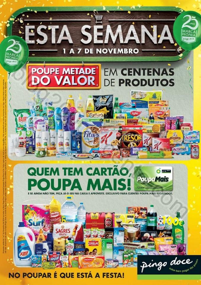 Antevisão Folheto PINGO DOCE Super de 1 a 7 novem