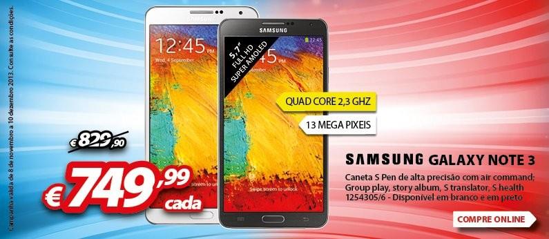Promoção | RÁDIO POPULAR | Samsung Galaxy Note 3