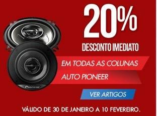 20% em colunas pioneer | WORTEN | até 10 fevereiro