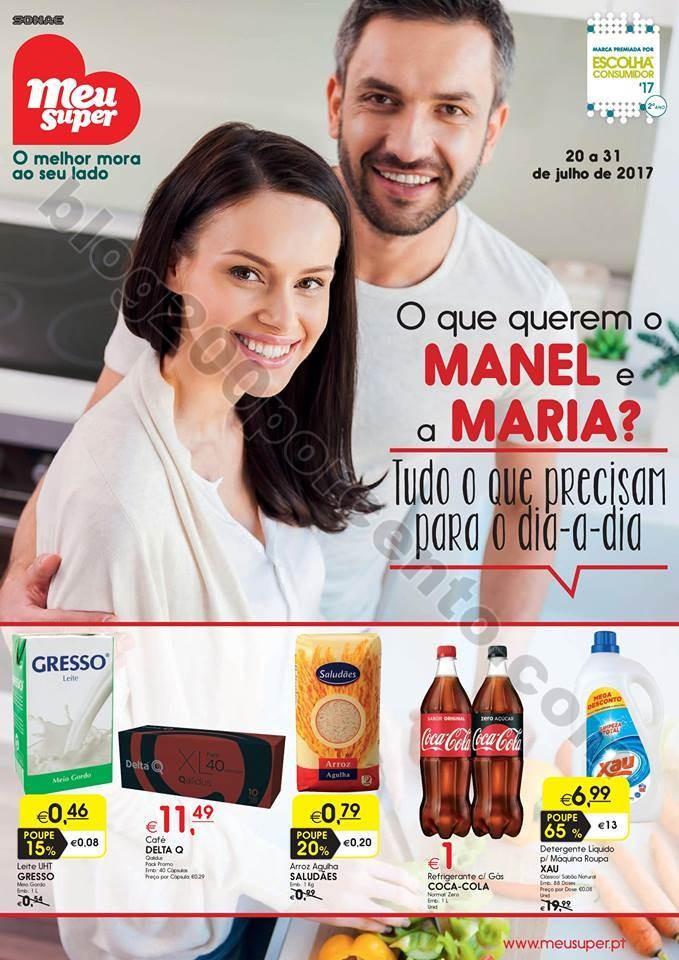 Antevisão Folheto MEU SUPER Promoções de 20 a 3