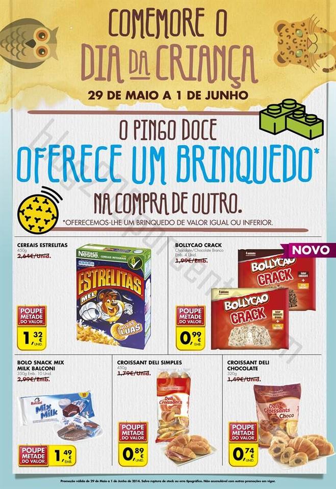 Promoção Dia Crianca PINGO DOCE de 29 maio a 1 junho