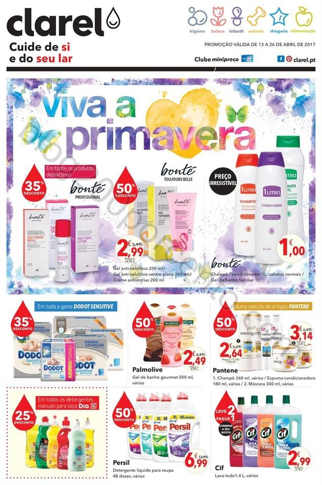 Antevisão Folheto CLAREL Promoções de 13 a 26 a