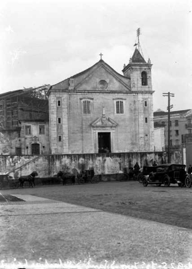 Igreja de São Sebastião da Pedreira, 1925, foto