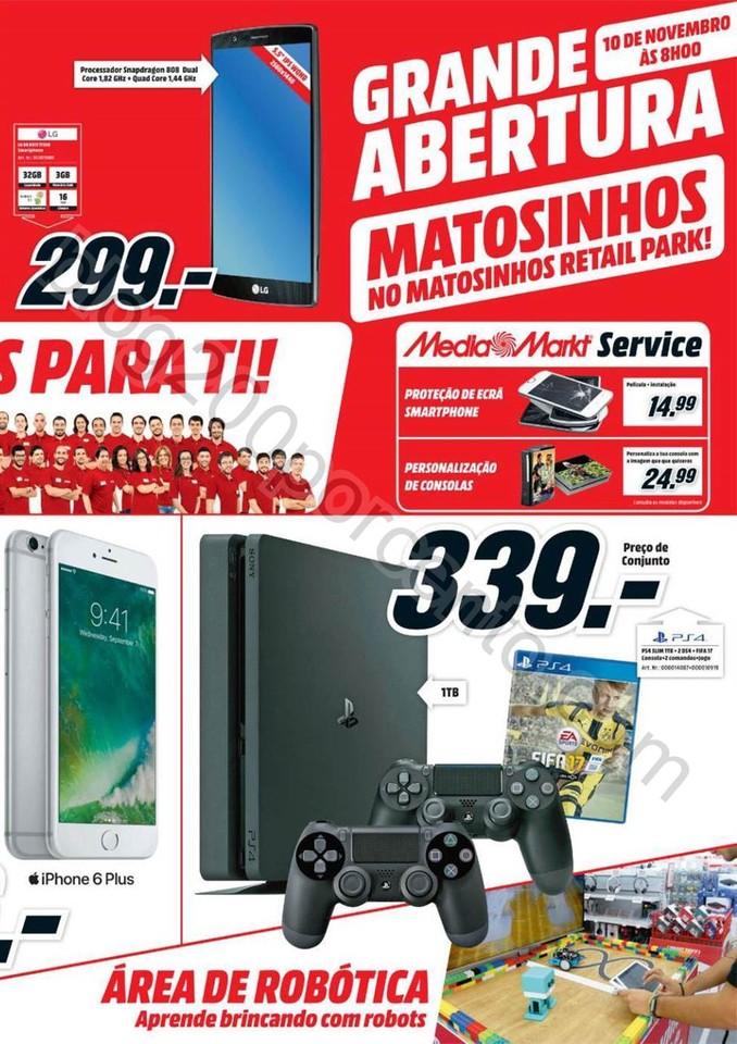 Antevisão Folheto MEDIA MARKT Abertura Matosinhos
