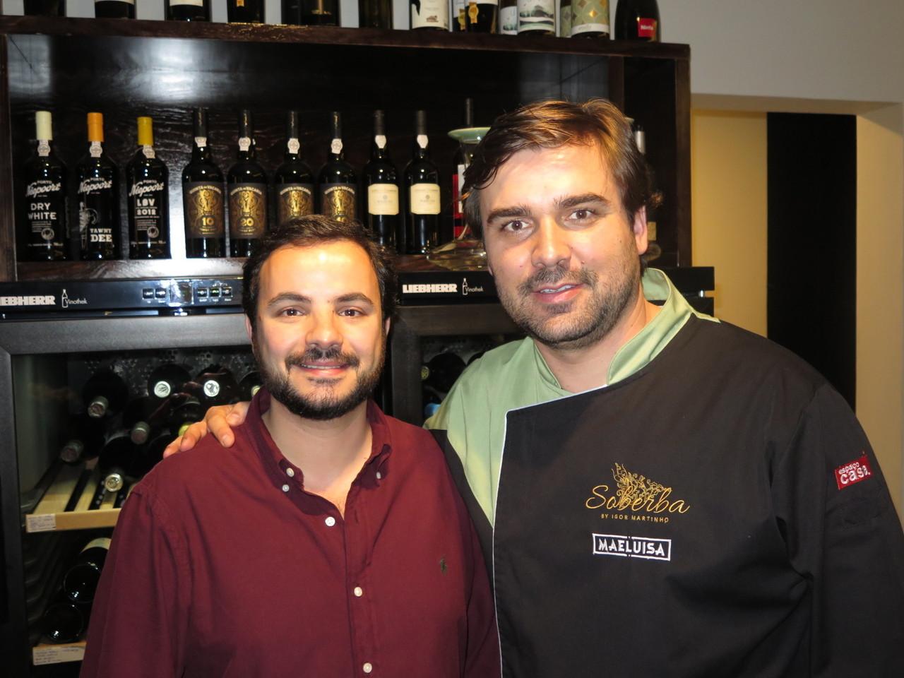 João Jorge e Igor Martinho
