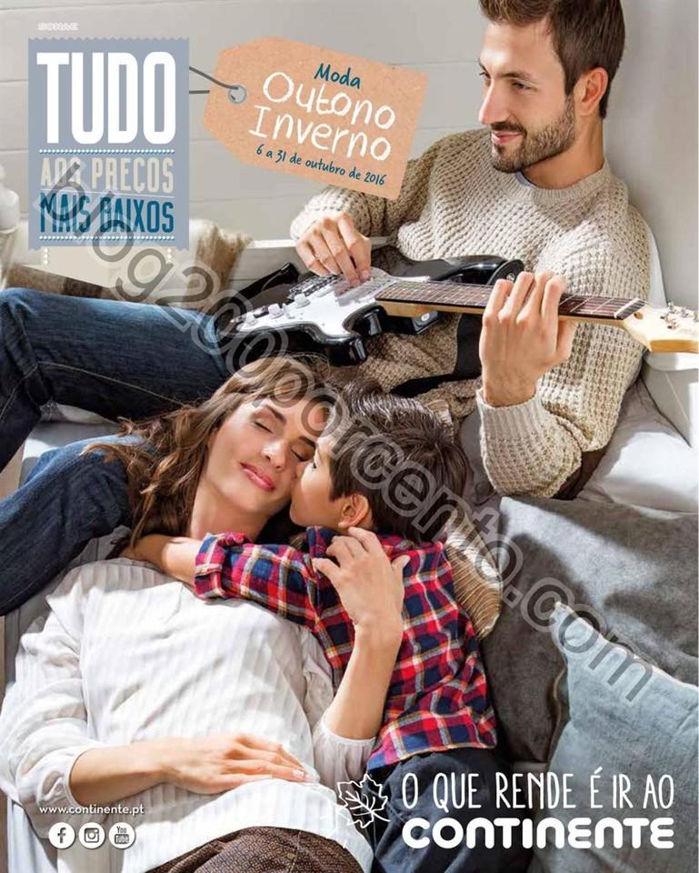 Novo Folheto CONTINENTE Moda Outono - Inverno prom