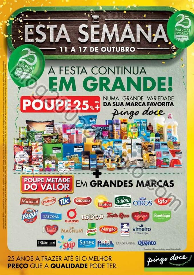 Antevisão Folheto PINGO DOCE promoções de 11 a