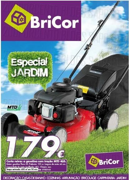 Folheto | BRICOR | Especial Jardim