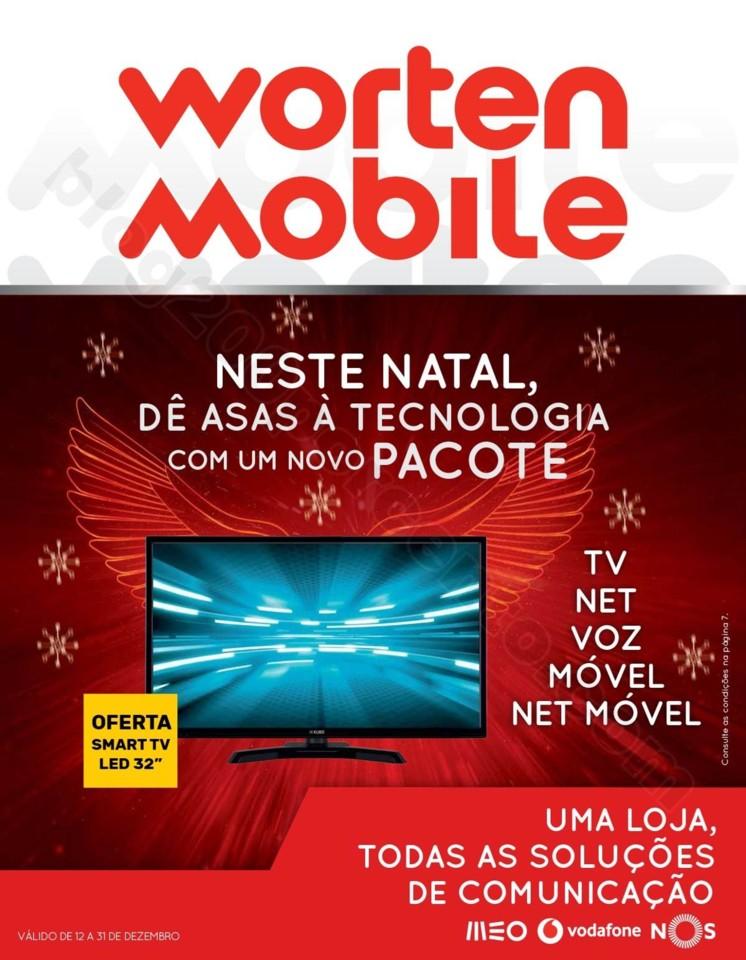 Antevisão Folheto WORTEN Mobile Promoções de 12