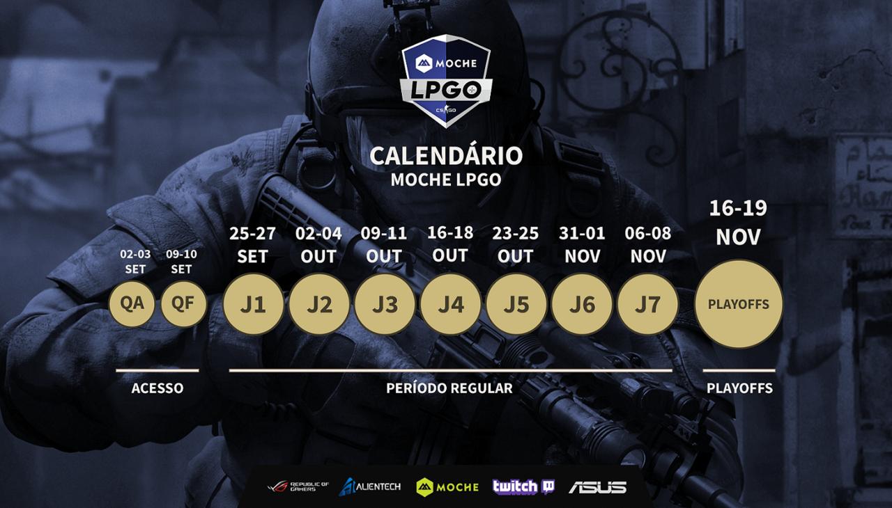 Calendário global LPGO
