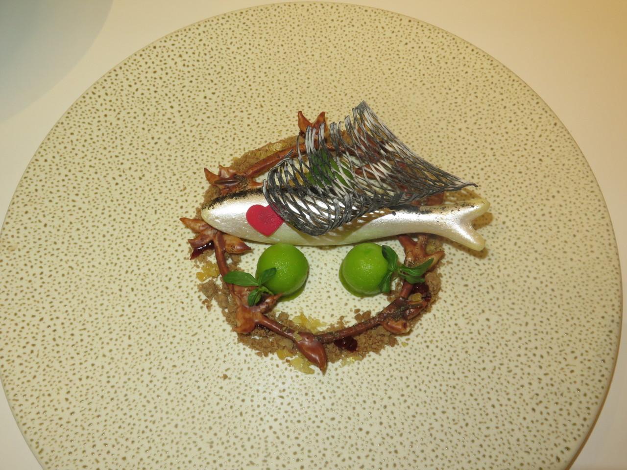 A sardinha doce do Arola