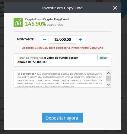 Investir no CopyFund