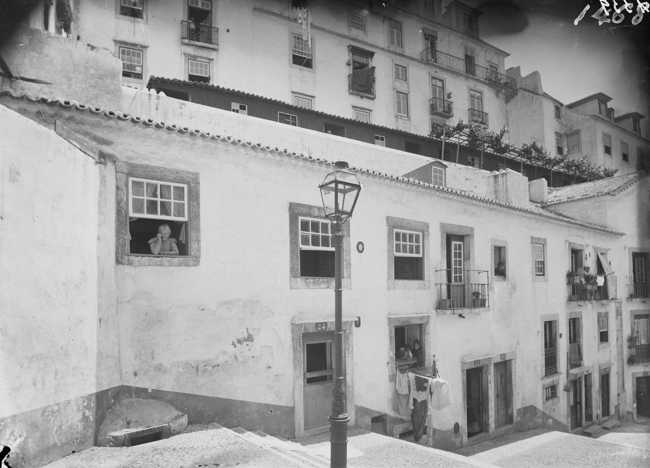 Escadinhas de São Crispim, entre 1898 1908, foto