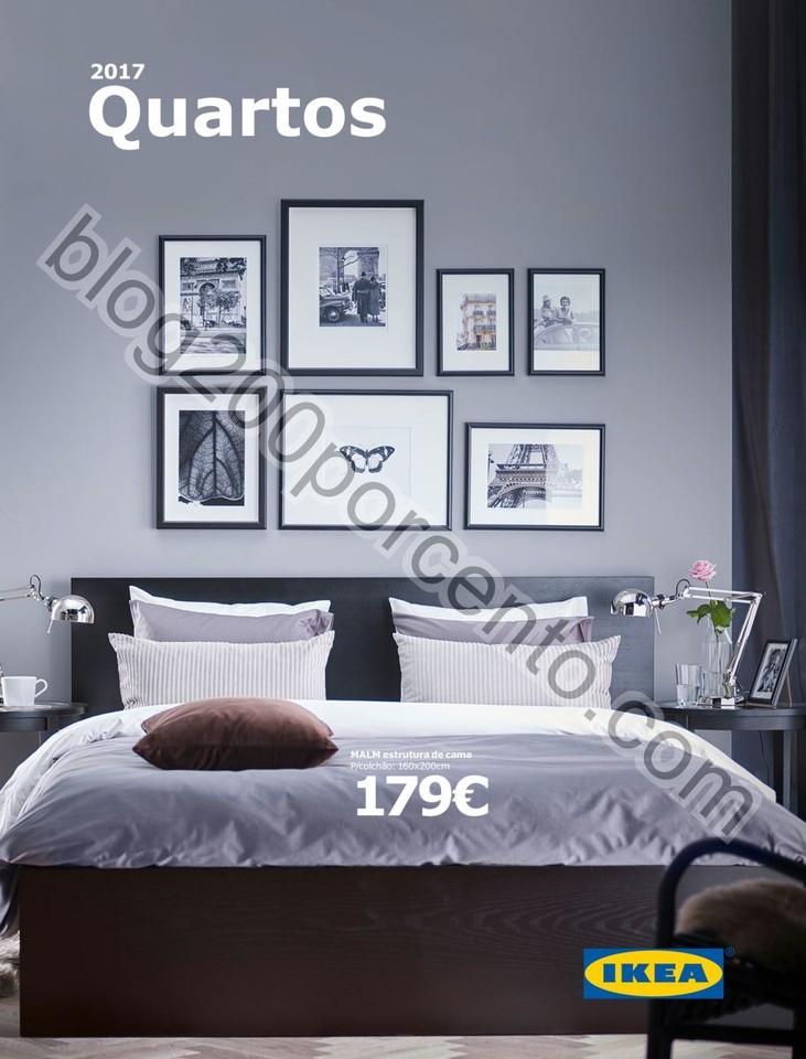 Novo Catálogo IKEA Quartos promoções até 31 ju