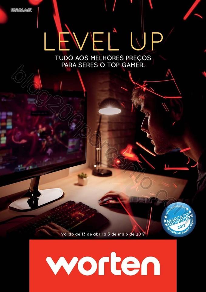 Novo Folheto WORTEN Extra Gamer promoções até 3