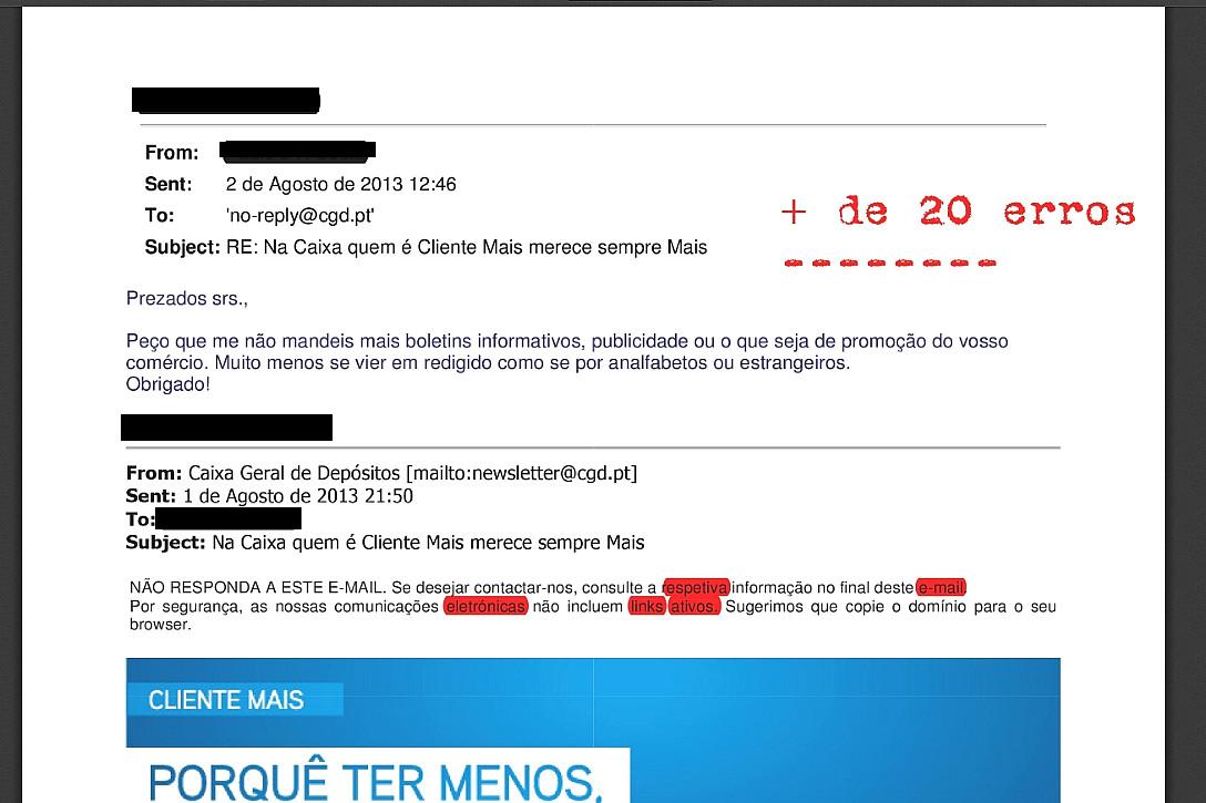 C.G.D., um banco brasileiro.