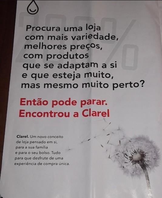 Primeiro folheto | CLAREL | de 6 a 26 fevereiro