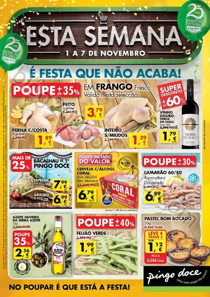 Antevisão Folheto PINGO DOCE Madeira de 1 a 7 nov